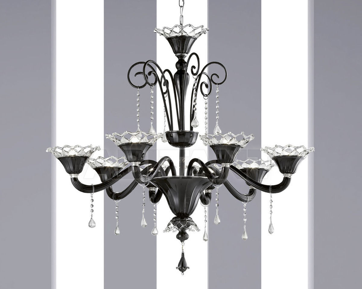 Купить Люстра Glass&Glass Contemporary Venetian C-27063/8