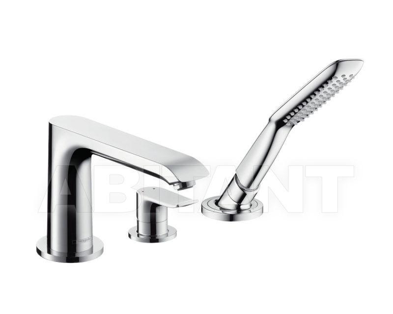 Купить Смеситель для ванны Hansgrohe Metris 31190000