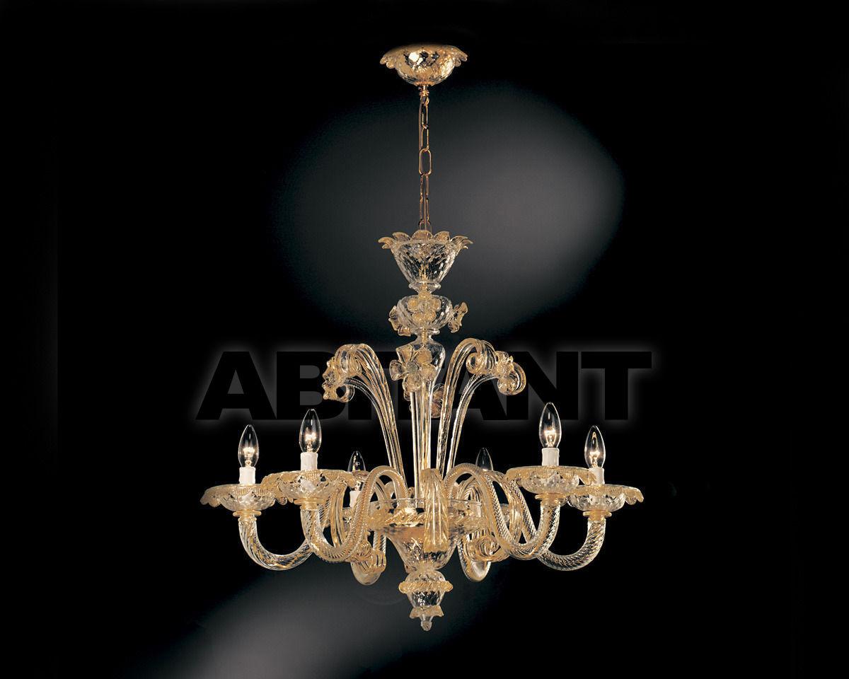 Купить Люстра Cavalliluce di Mirco Cavallin Venice 11L6 Cristallo oro