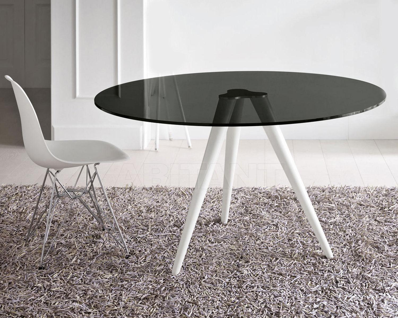 Купить Стол обеденный Tonelli Design Srl News Unity GAMBE VERNICIATE BIANCO 2