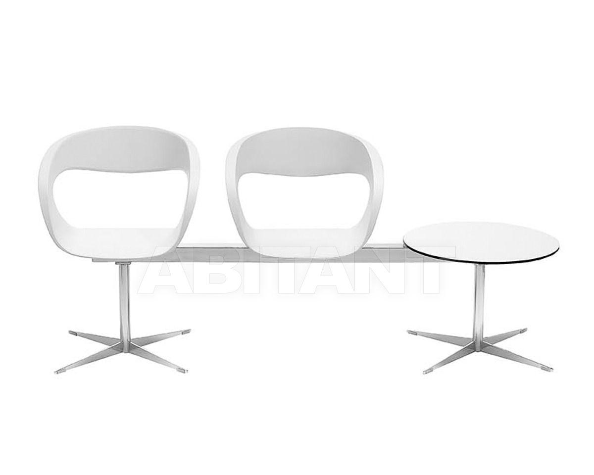 Купить Кресла для залов ожидания Midj Sedie Raff PA2T-B