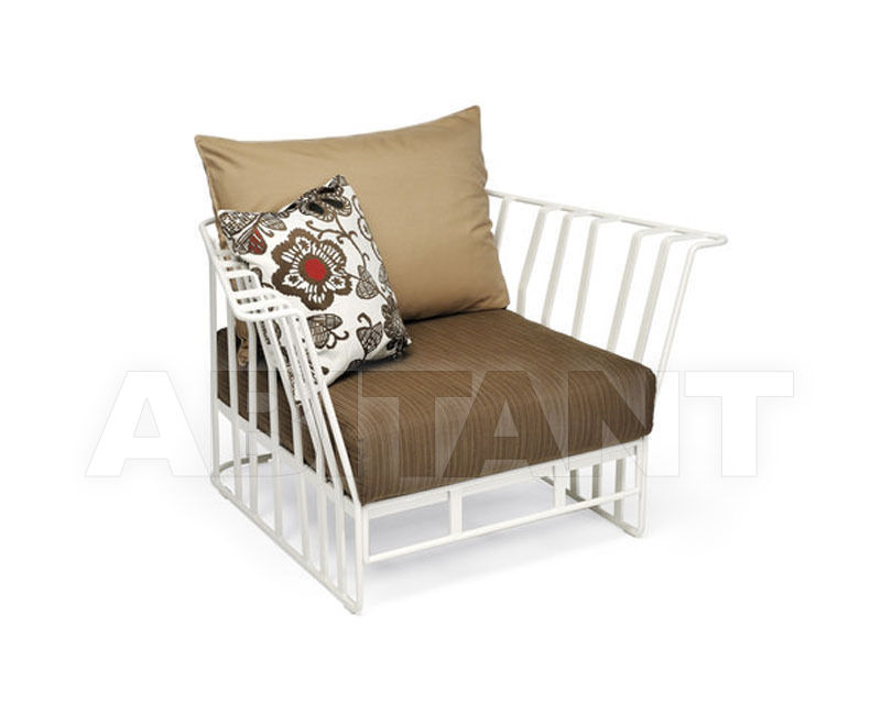 Купить Кресло Hamptons Graphics Roberti Rattan Greenfield 9731