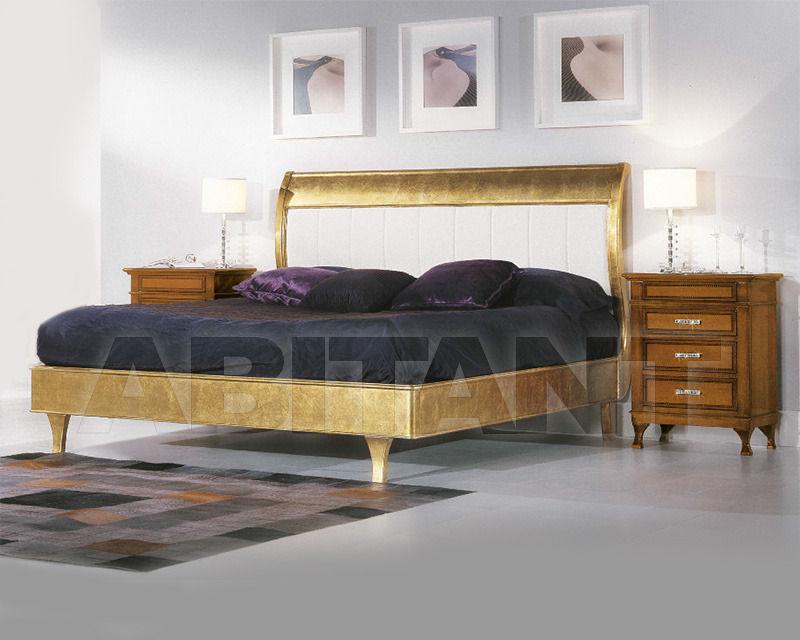 Купить Кровать 2 Elle snc di Lenzi P. e P.  Dolci Songi Sinfonia Versione foglia oro