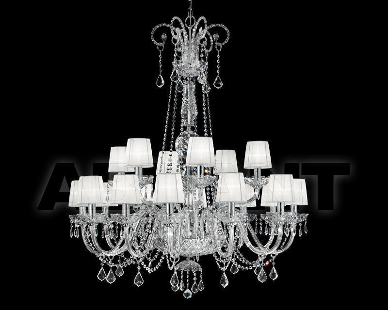 Купить Люстра Renzo del Ventisette & C. S.A.S Contemporanea 14424/12+6 CP