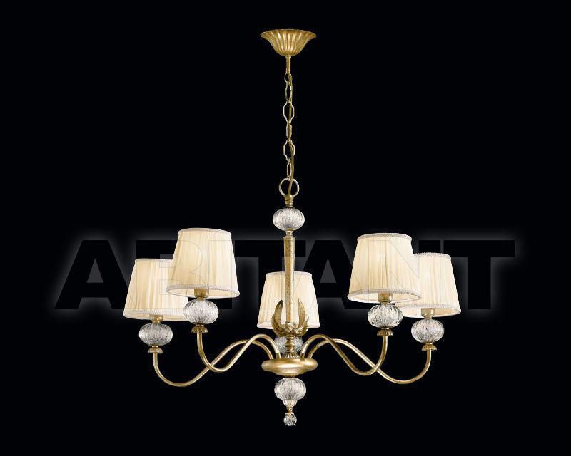 Купить Люстра Renzo del Ventisette & C. S.A.S Con Paralumi L 13751/5 CP