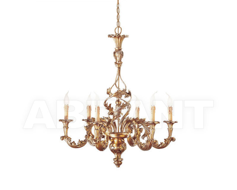 Купить Люстра Renzo del Ventisette & C. S.A.S Legno L 13618/6