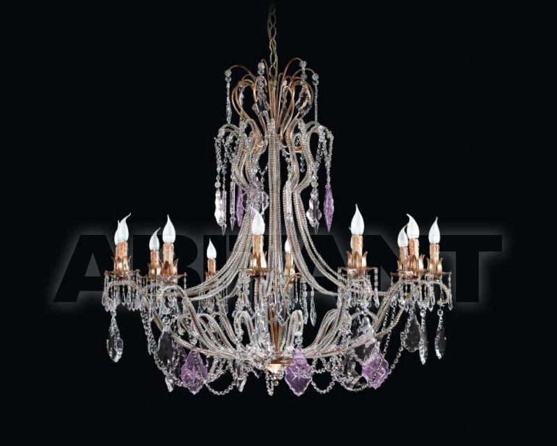 Купить Люстра Renzo del Ventisette & C. S.A.S Legno L 14012/12