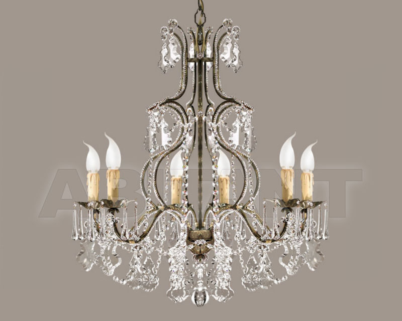 Купить Люстра Renzo del Ventisette & C. S.A.S Legno L 13752/6
