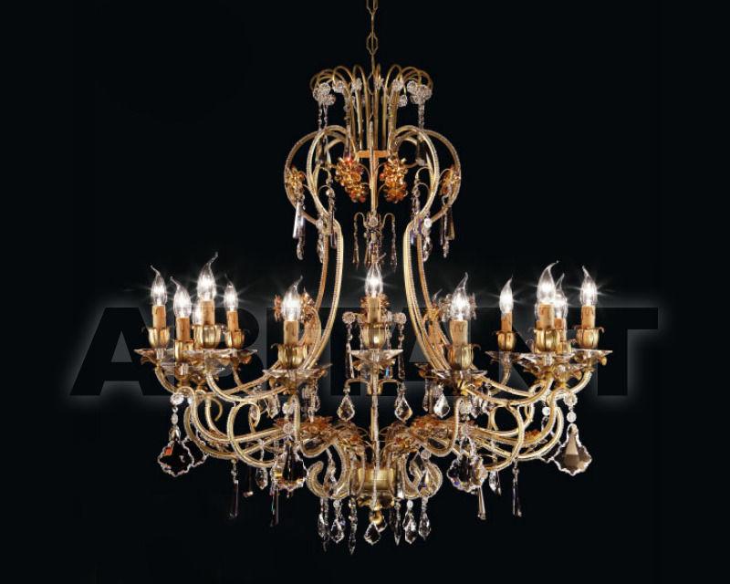 Купить Люстра Renzo del Ventisette & C. S.A.S Legno L 14113/16