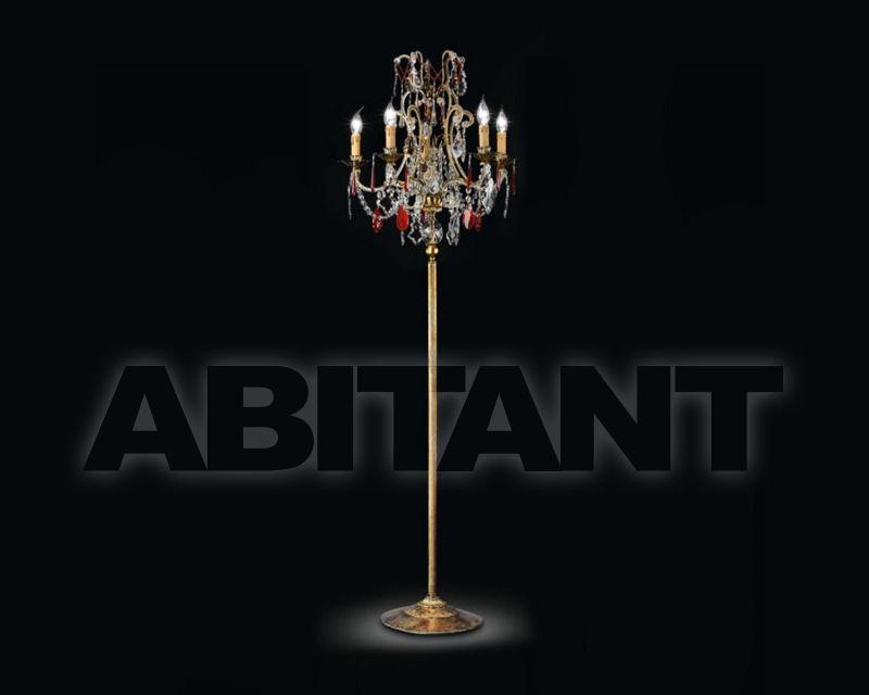 Купить Торшер Renzo del Ventisette & C. S.A.S Legno LT 14002/5
