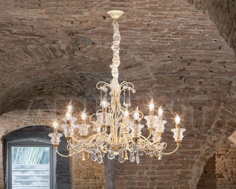 Купить Люстра Renzo del Ventisette & C. S.A.S Legno L 14148/12 White