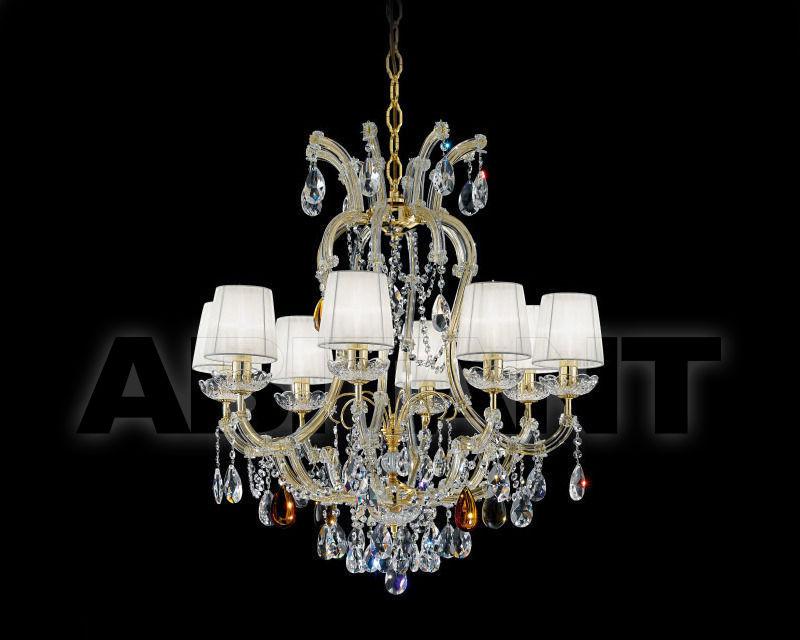 Купить Люстра Renzo del Ventisette & C. S.A.S Cristalli 14394/8 CP OZ