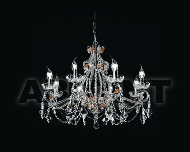 Купить Люстра Renzo del Ventisette & C. S.A.S Cristalli 14155/8 CR