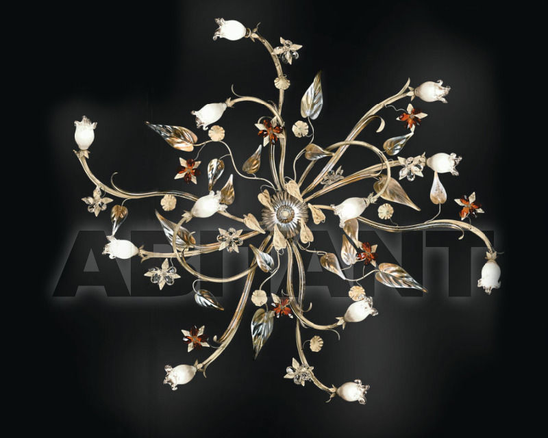 Купить Светильник Renzo del Ventisette & C. S.A.S Floreale PL 14082/12