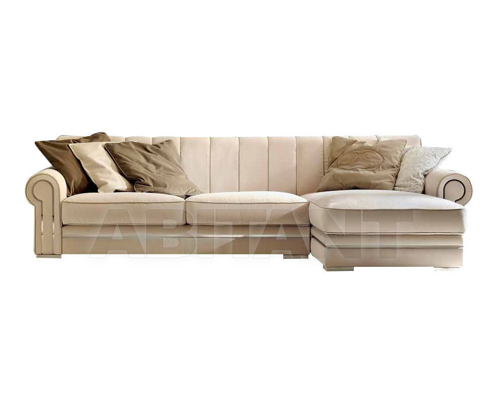 Купить Диван Formerin Charming And Luxurious Mood QUINCY Divano terminale/Sofa with one armrest cm. 188 + Chaise longue cm. 106x164