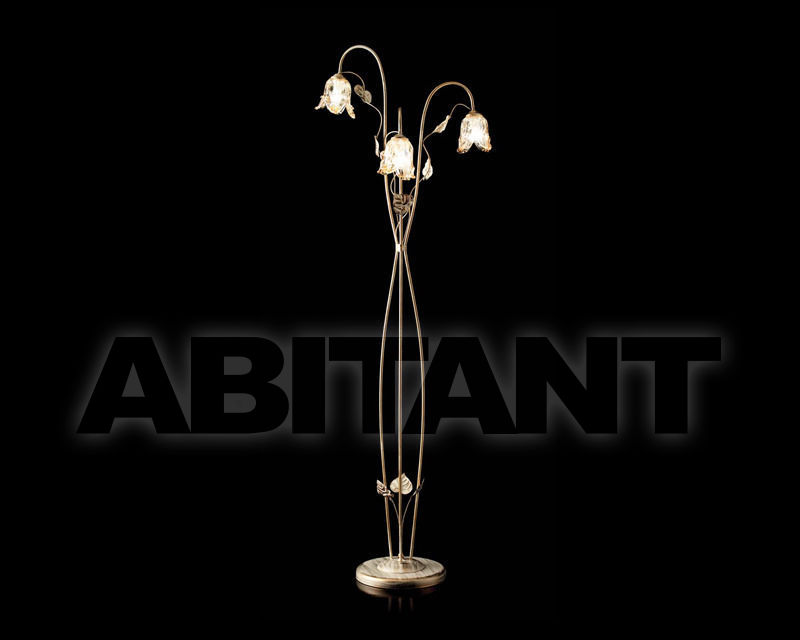 Купить Торшер Ciciriello Lampadari s.r.l. Lighting Collection 2480 piantana 3 luce