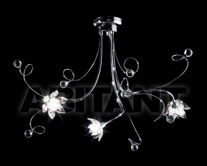 Купить Люстра Ciciriello Lampadari s.r.l. Lighting Collection GIGLIO lampadario 3 luci