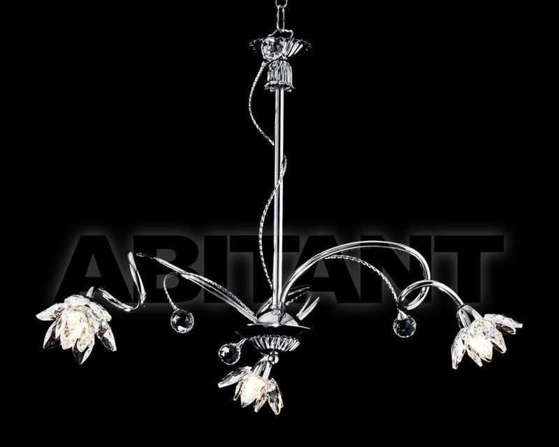Купить Люстра Ciciriello Lampadari s.r.l. Lighting Collection 2012 cromo lampadario 3 luci