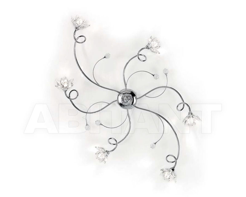 Купить Люстра Ciciriello Lampadari s.r.l. Lighting Collection 2012 cromo plafoniera 6 luci