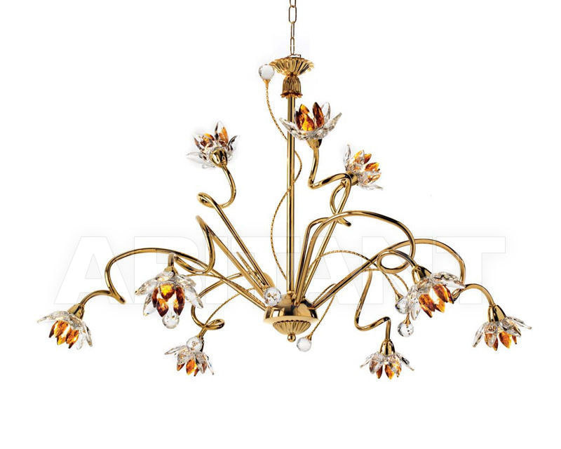 Купить Люстра Ciciriello Lampadari s.r.l. Lighting Collection 2012 oro lampadario 9 luci