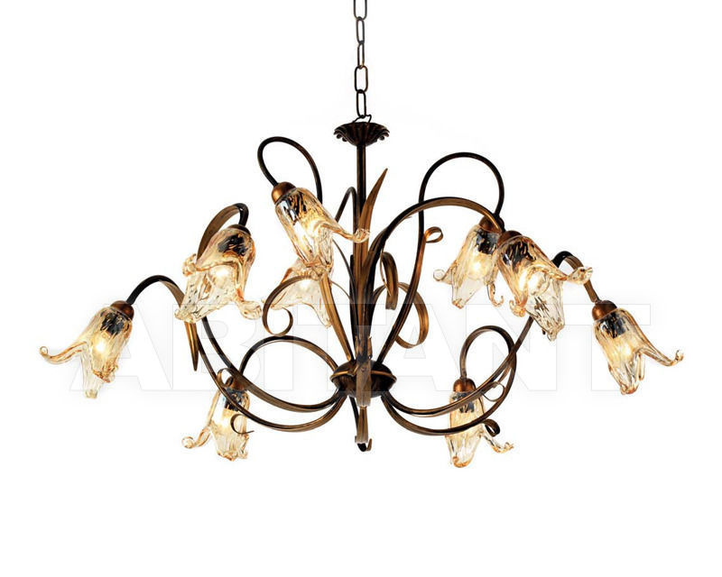 Купить Люстра Ciciriello Lampadari s.r.l. Lighting Collection PESARO lampadario 9 luci
