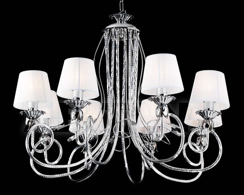 Купить Люстра Ciciriello Lampadari s.r.l. Lighting Collection 2165 cromo lampadario 8 luci
