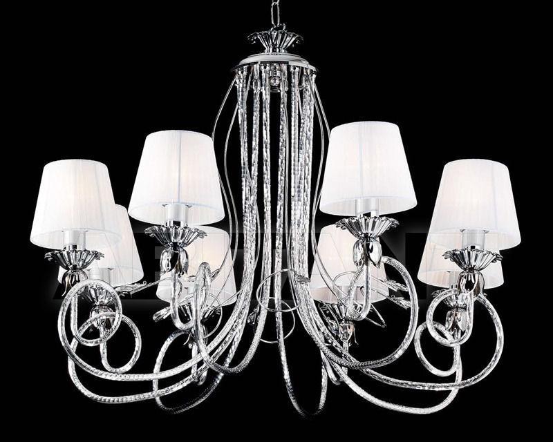 Купить Люстра Ciciriello Lampadari s.r.l. Lighting Collection 2165 cromo lampadario 8 luci
