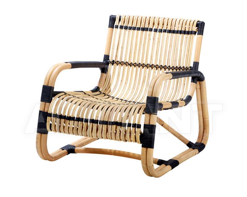Купить Кресло для террасы Curve lounge Cane Line 2014 7402RUS