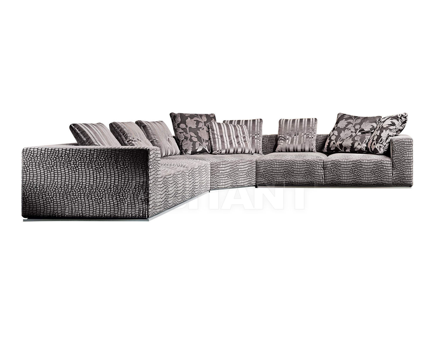 Купить Диван Formerin Contemporary Modern MY CLOON 2 x Divano terminale/Sofa with 1 arm + Angolo poltrona/Angle arm-chair