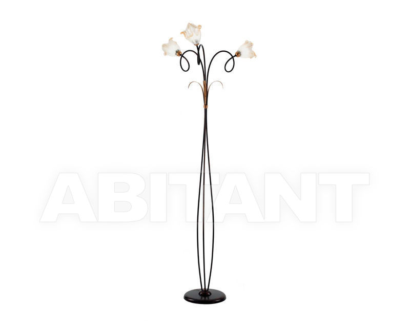 Купить Торшер Ciciriello Lampadari s.r.l. Lighting Collection RIMINI piantana 3 luci