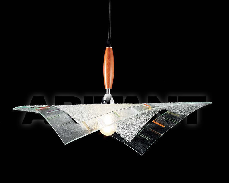 Купить Светильник Ciciriello Lampadari s.r.l. Lighting Collection 316 1fo. gran. sospensione 1 foro fusione strisce