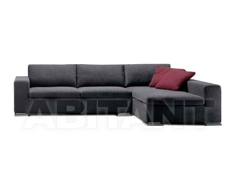 Купить Диван Formerin Contemporary Modern BRANDO Divano terminale/Sofa with 1 arm + Chaise longue cm. 105x186