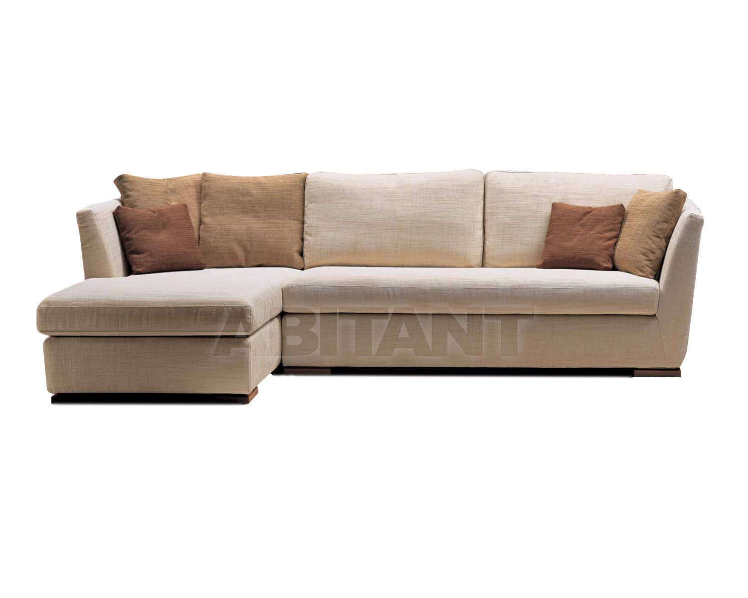 Купить Диван Formerin Contemporary Modern GABLE Divano terminale/Sofa with 1 arm + Chaise longue cm. 95x161