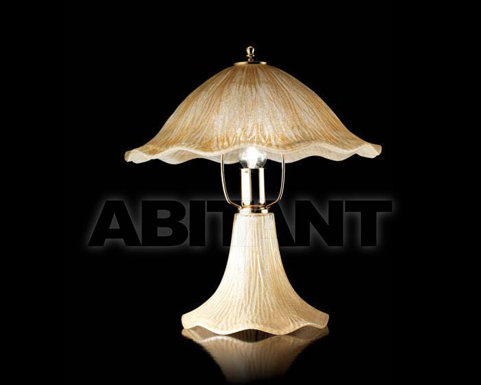 Купить Лампа настольная Ciciriello Lampadari s.r.l. Lighting Collection 635 ambra lume grande