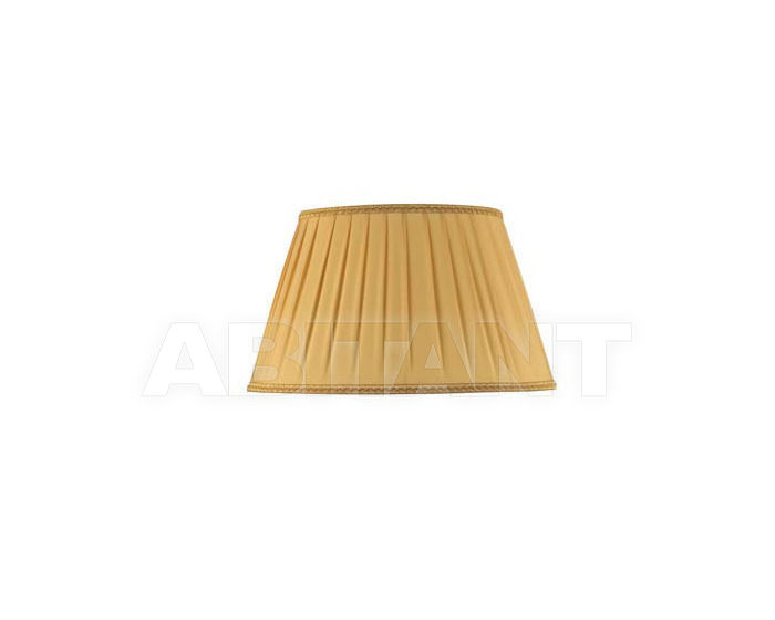 Купить Абажур Ciciriello Lampadari s.r.l. Lighting Collection 3047 ovale plissé GIALLO/ORO 30