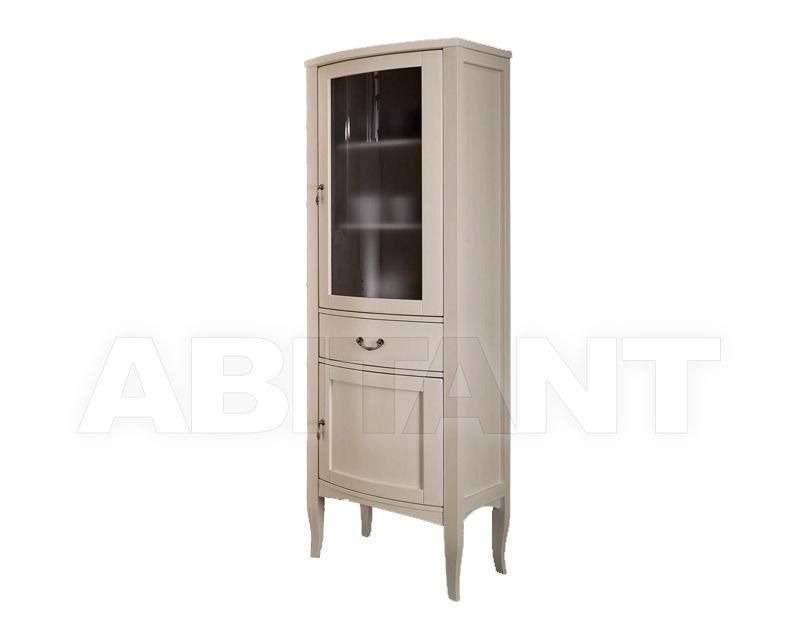 Купить Шкаф для ванной комнаты Ciciriello Lampadari s.r.l. Bathrooms Collection VETRINA LONDON avorio