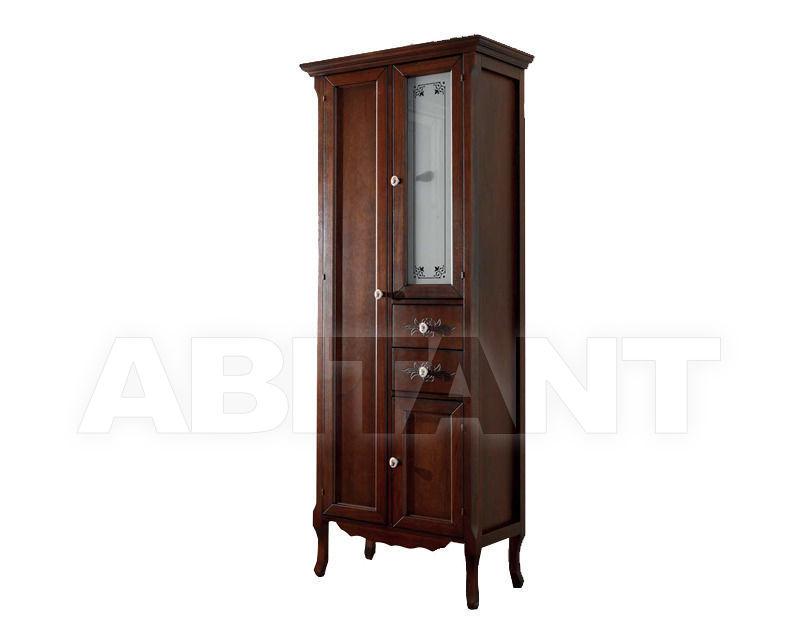 Купить Шкаф для ванной комнаты Ciciriello Lampadari s.r.l. Bathrooms Collection Vetrina Katia 60 noce