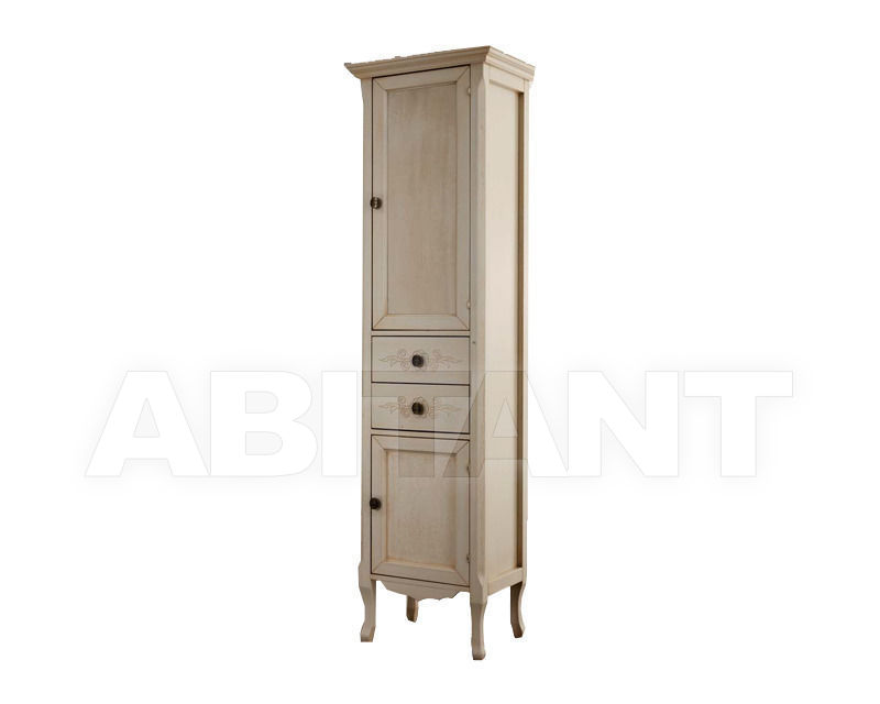Купить Шкаф для ванной комнаты Ciciriello Lampadari s.r.l. Bathrooms Collection Vetrina Anna 30 avorio
