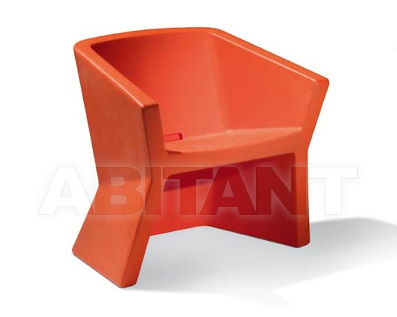 Купить Стул с подлокотниками Slide Furniture SD EXO050 red