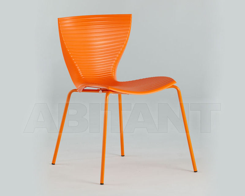 Купить Стул Slide Furniture SD GLR080 oange