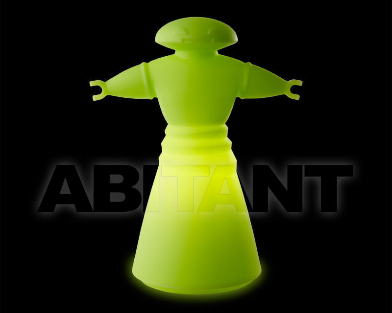 Купить Лампа настольная Slide Lights LP BOT045 green