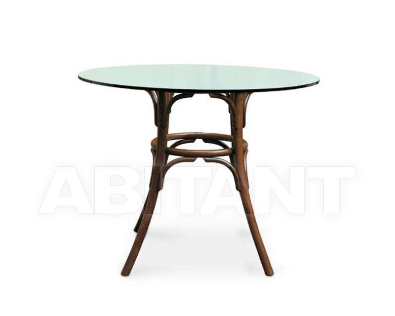 Купить Стол обеденный Italcomma Complementi D'arredo S.R.L  Sedie Storiche 27 TB 18 BASE +27 PIANO VETRO