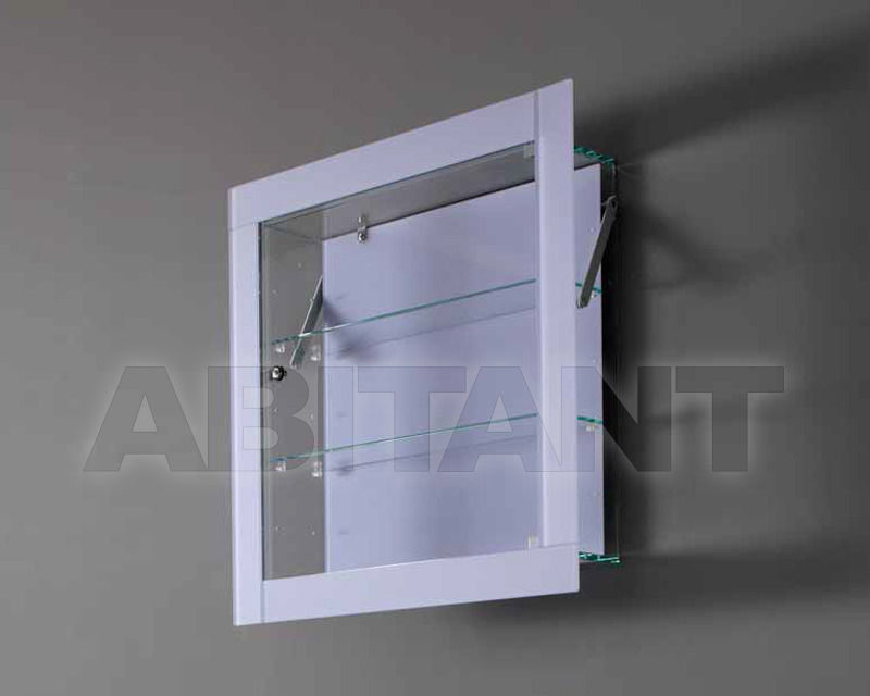 Купить Полка Italcomma Complementi D'arredo S.R.L  Urbinati Bacheca glass cm. 74 x 74 prof. 28