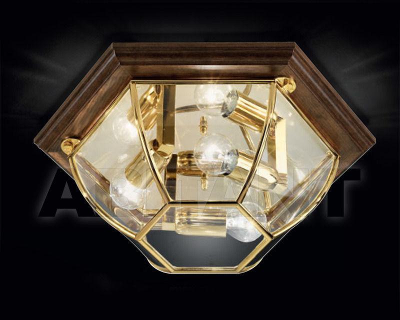 Купить Светильник Cremasco Illuminazione snc Il Rilegato 0981/3PL-GR-LN.cm