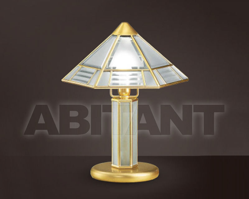 Купить Лампа настольная Cremasco Illuminazione snc Il Rilegato 2011/1LU.sm.si