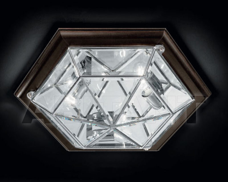 Купить Светильник Cremasco Illuminazione snc Il Rilegato 1053/3PL-LN.cm