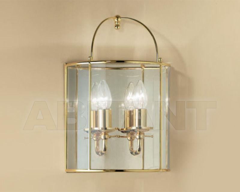 Купить Светильник настенный Cremasco Illuminazione snc Il Rilegato 1805/2AP-B.c