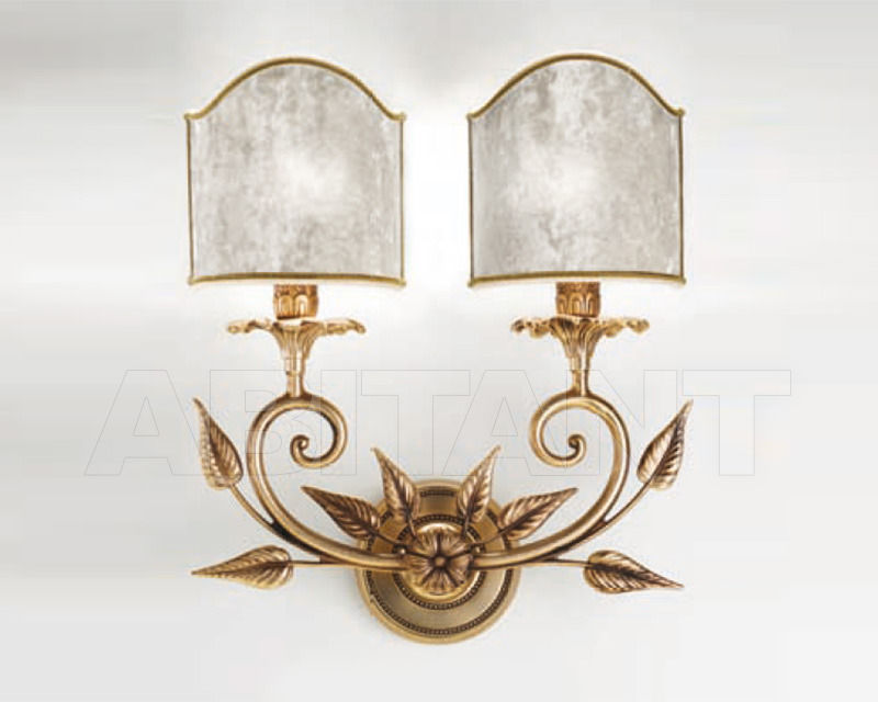 Купить Бра Cremasco Illuminazione snc Opere Di Luce 4006/2AP-BRSA