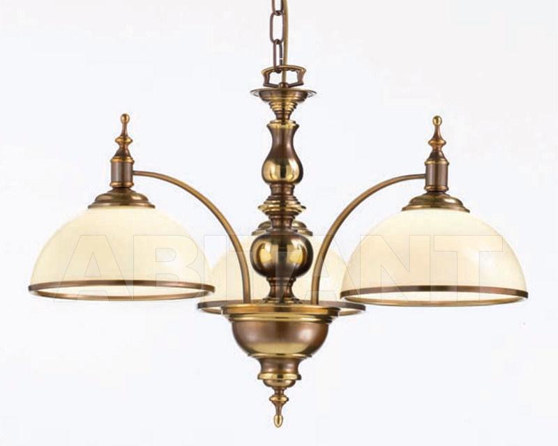 Купить Люстра Cremasco Illuminazione snc Opere Di Luce 4075/3S-BRSF