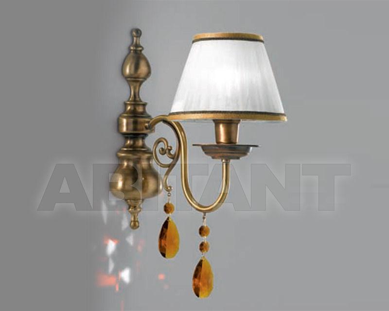 Купить Бра Cremasco Illuminazione snc Opere Di Luce 4084/1AP-BRSA-AM-BA